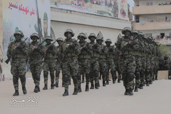 המקהלה הצבאית של גדודי אל-קסאם